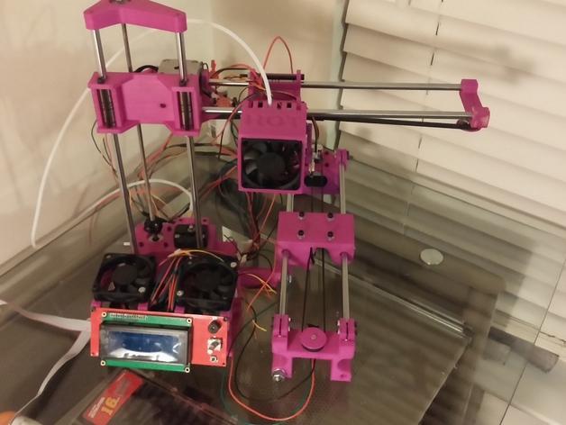 与众不同的Smartrap3d打印机 3D模型  图44