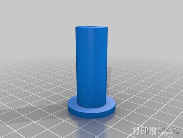 灯丝线轴架 3D模型  图6