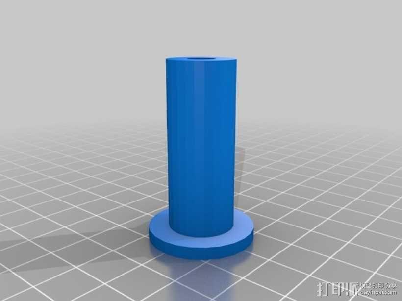 灯丝线轴架 3D模型  图9
