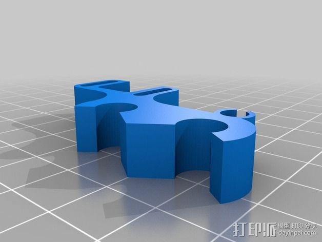 Prusa i3 适配器 3D模型  图2