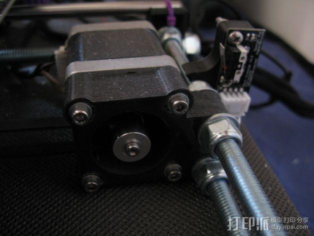 Prusa i3 Y轴适配器 3D模型  图1