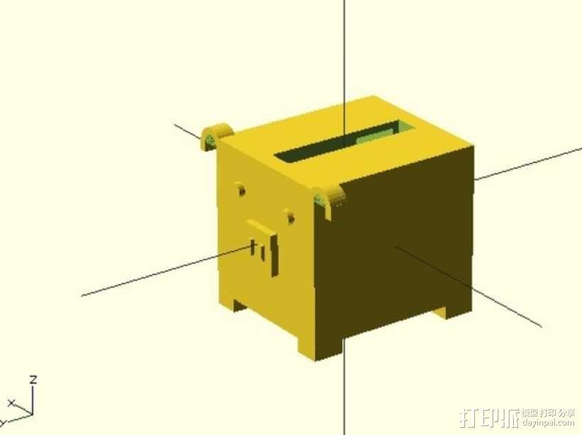 存钱罐 3D模型  图1