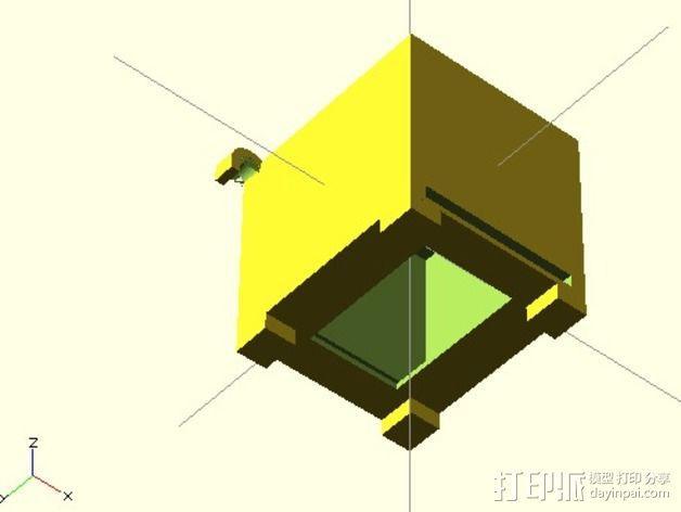 存钱罐 3D模型  图3