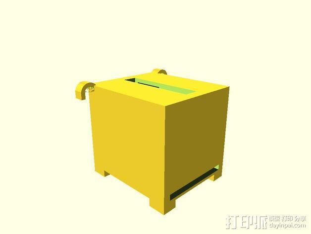 存钱罐 3D模型  图2