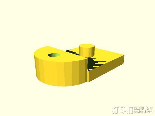 心形摆件 3D模型  图2