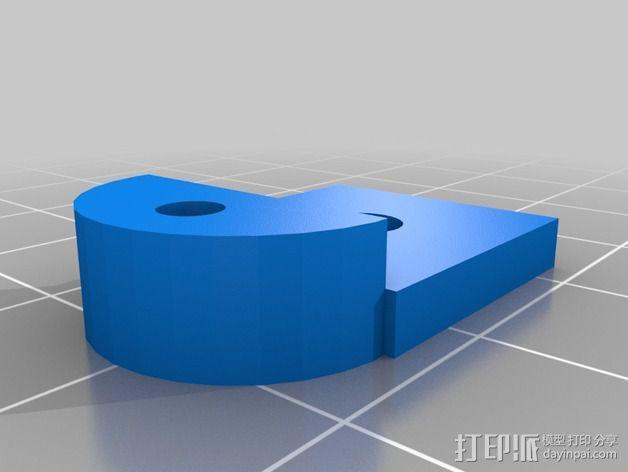心形摆件 3D模型  图4
