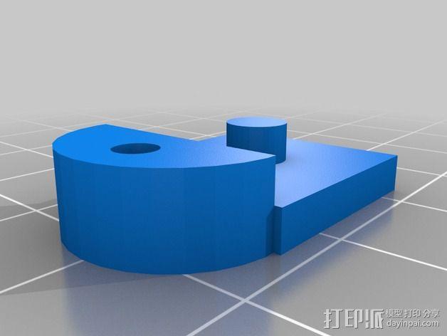 心形摆件 3D模型  图5