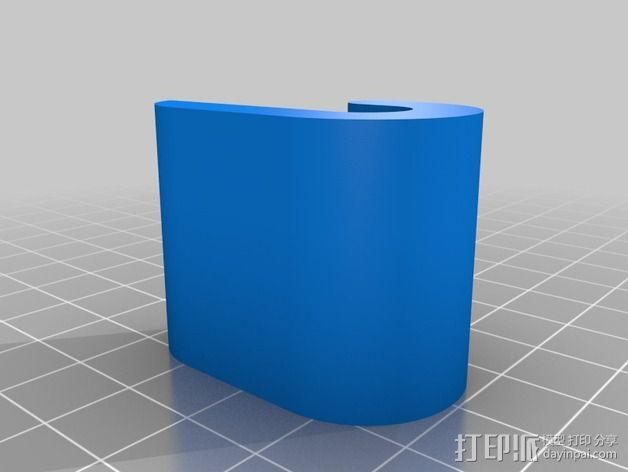 Prusa I3 Y轴适配器 3D模型  图2
