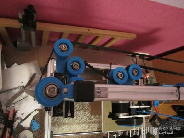 K8200 Z轴适配器 3D模型  图3