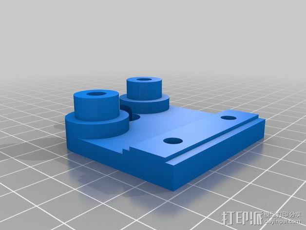 K8200 Z轴适配器 3D模型  图5