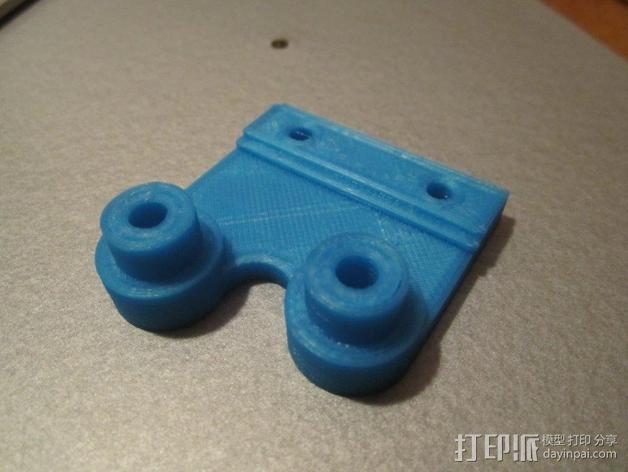 K8200 Z轴适配器 3D模型  图4