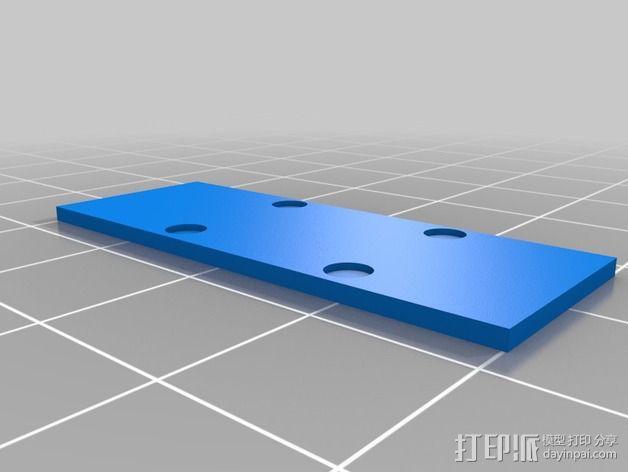 调节滑块 3D模型  图2