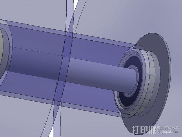 轴承适配器 3D模型  图8