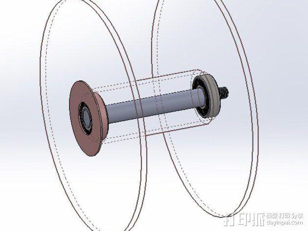 轴承适配器 3D模型  图6