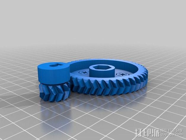 Prusa I3齿轮 3D模型  图2