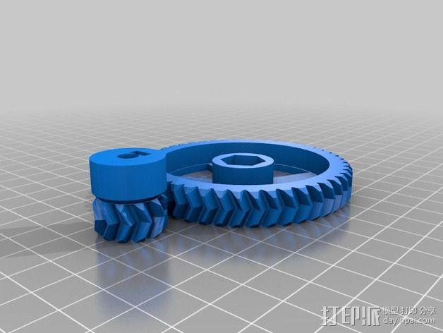 Prusa I3齿轮 3D模型  图3
