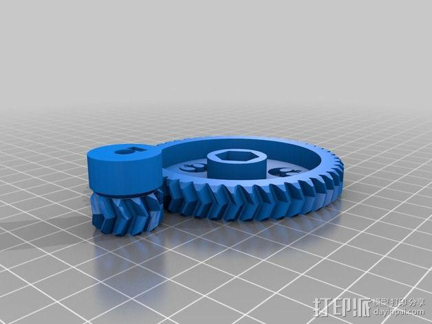 Prusa I3齿轮 3D模型  图4
