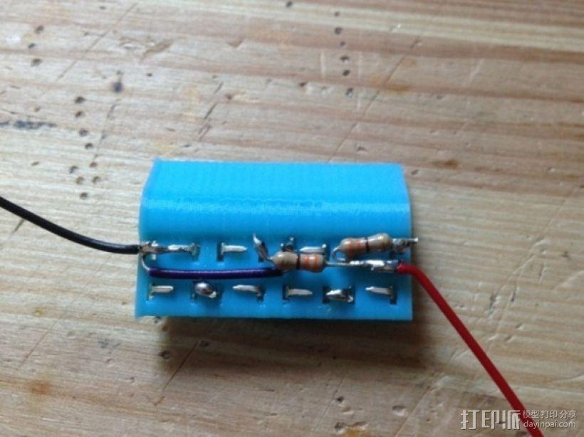 LED适配器 3D模型  图2