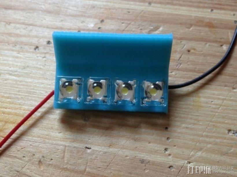 LED适配器 3D模型  图1