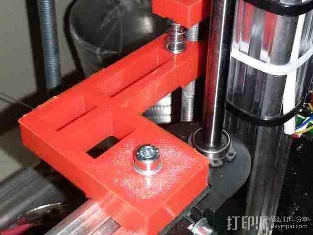 K8200 Z轴适配器 3D模型  图1