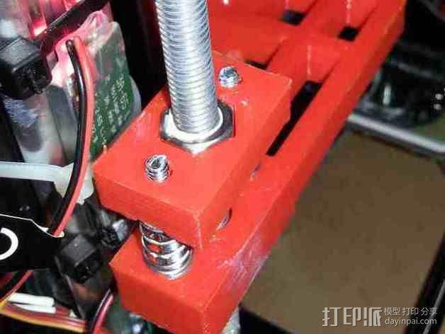 K8200 Z轴适配器 3D模型  图2