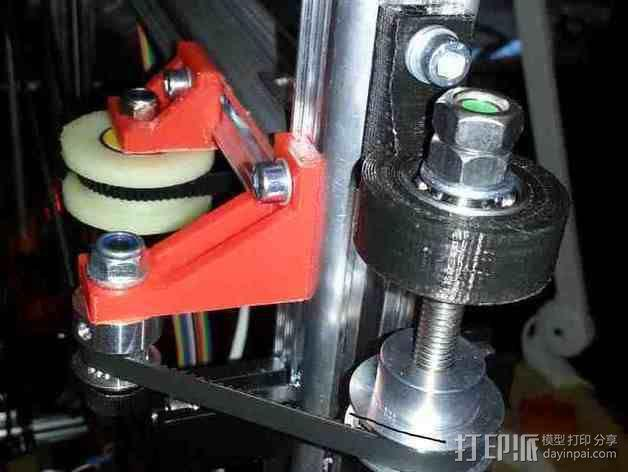 K8200 Z轴适配器 3D模型  图6