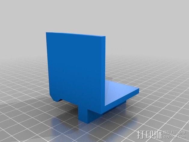 方形框架 3D模型  图5
