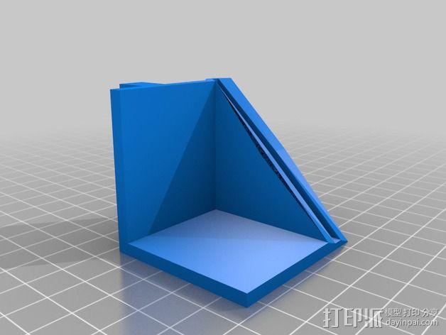 方形框架 3D模型  图4