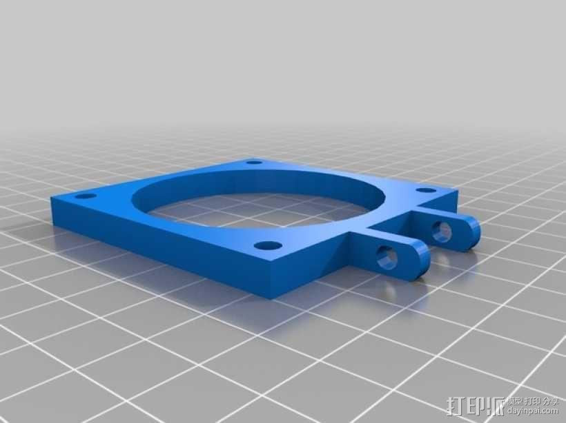 Prusa I3 风扇 3D模型  图1