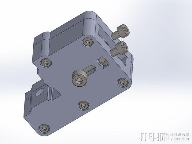 K8200 适配器 3D模型  图2