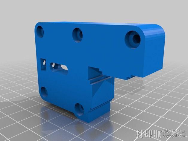 K8200 适配器 3D模型  图4
