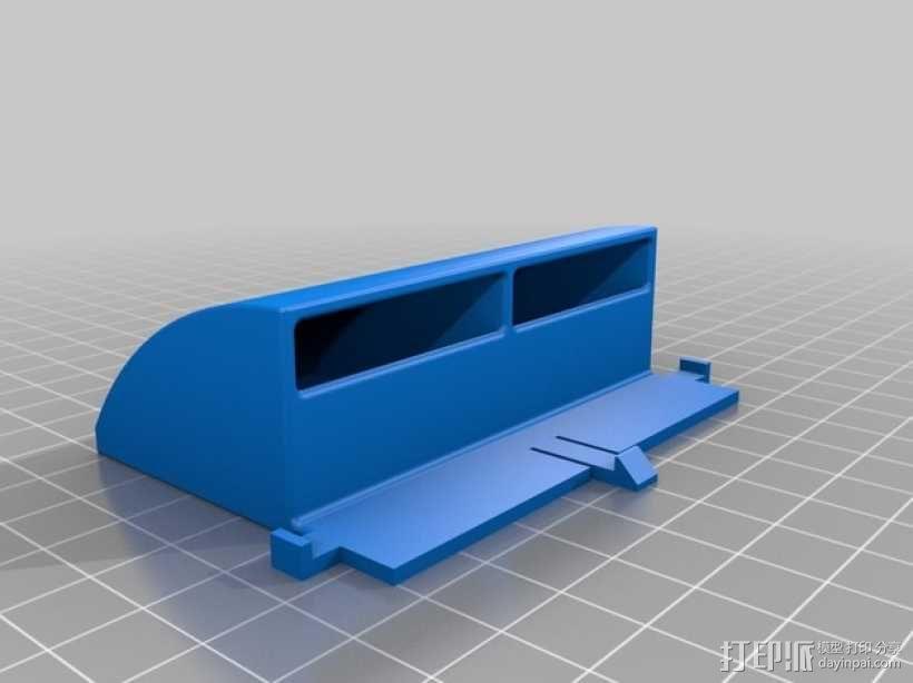 冷风扇 3D模型  图2