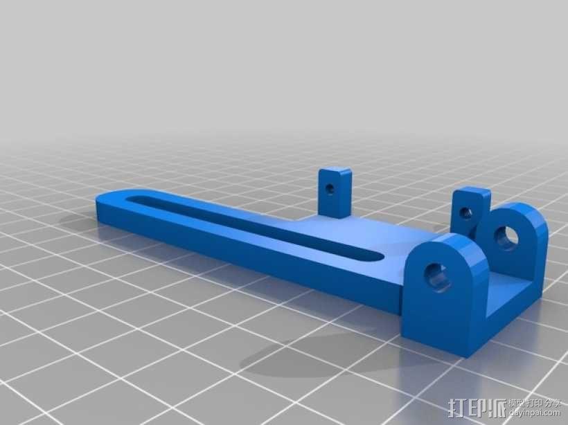 伺服器适配器 3D模型  图1