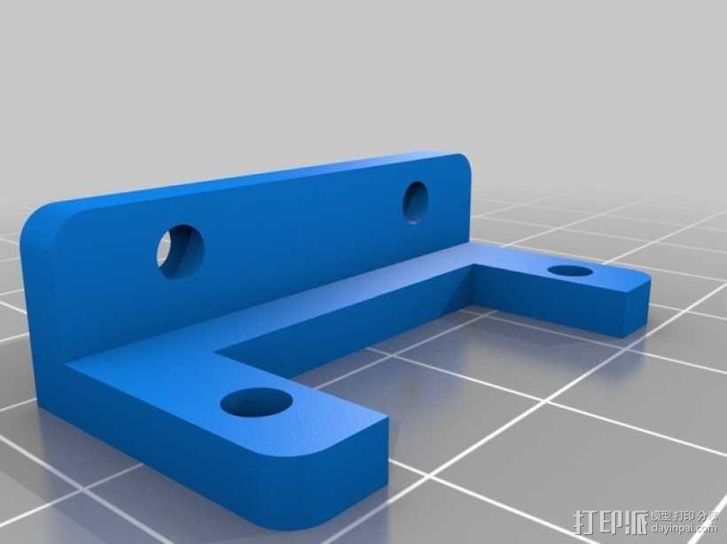 伺服器调整版 3D模型  图2