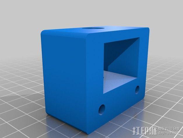 Z轴适配器 3D模型  图3