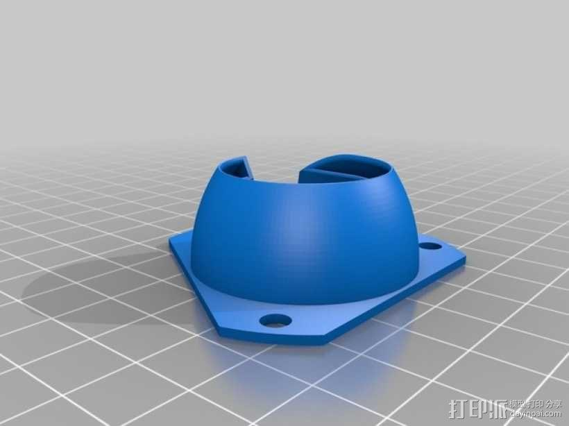 E3D风扇 3D模型  图2