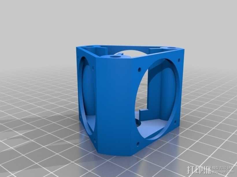 E3D风扇 3D模型  图3