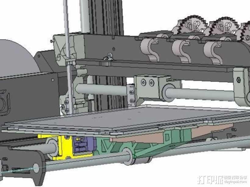 3D打印机轴承 3D模型  图1