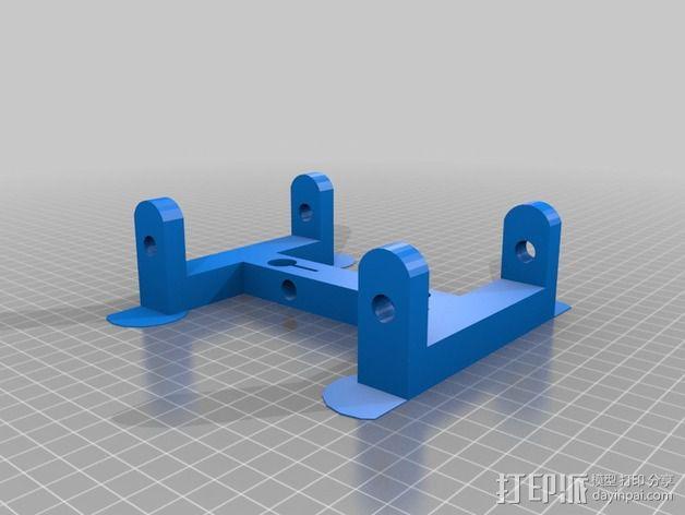 轴座 3D模型  图3