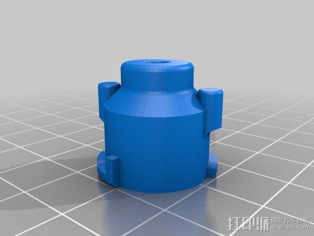线丝除尘器 3D模型  图2