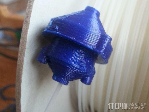 线丝除尘器 3D模型  图1