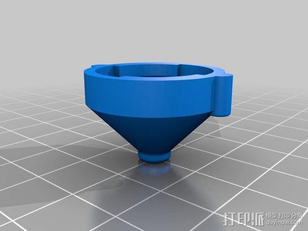 线丝除尘器 3D模型  图3