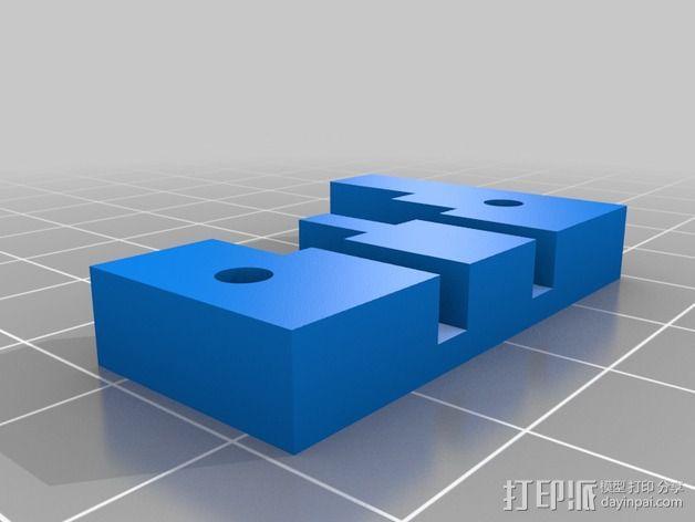 电源适配器 3D模型  图2