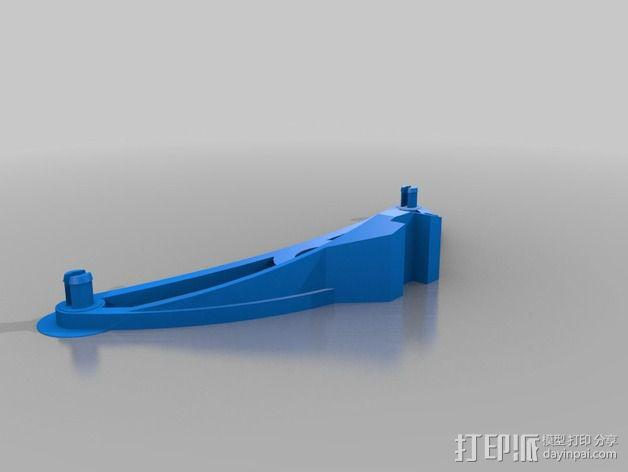 迷你线轴架 3D模型  图2