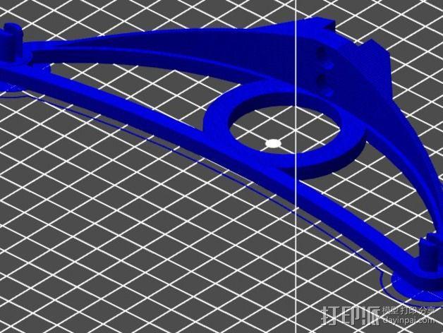 迷你线轴架 3D模型  图3