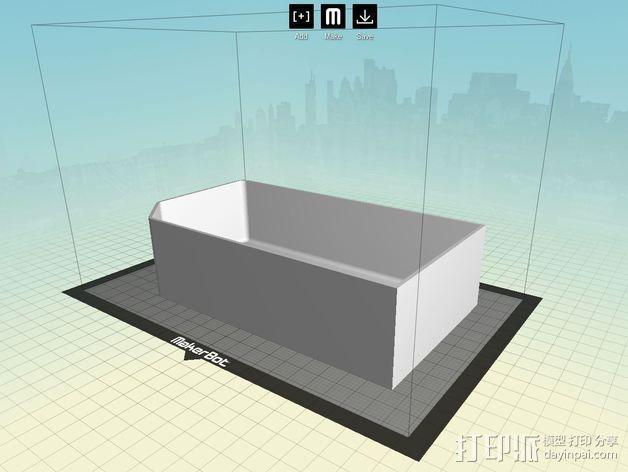 双存储盒 3D模型  图5