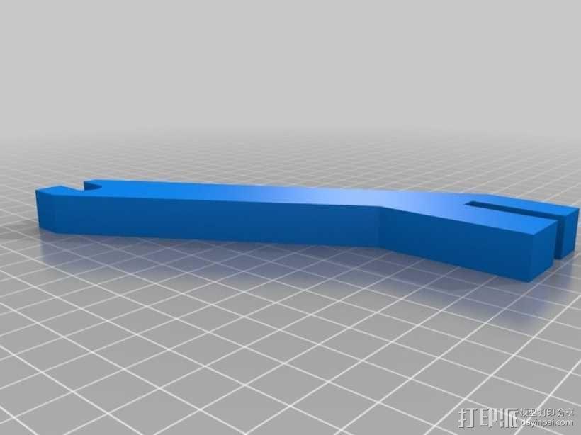 Prusa i3 线轴架 3D模型  图1