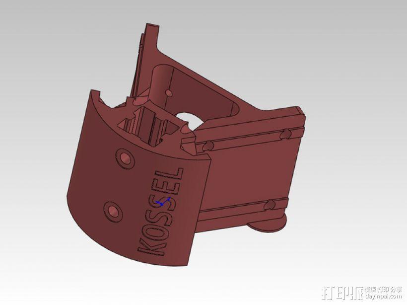 KOSSEL 2020 驱动器 3D模型  图1