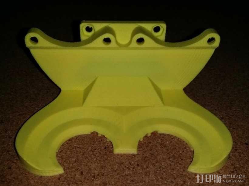 风扇管 3D模型  图1