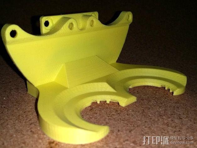 风扇管 3D模型  图3